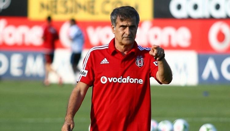 Beşiktaş'ta Şenol Güneş'ten oyuncularına Galatasaray uyarısı