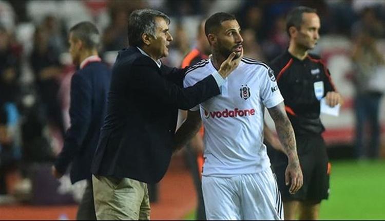Beşiktaş'ta Şenol Güneş'ten Ricardo Quaresma ile özel görüşme