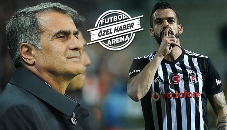 Beşiktaş'ta Şenol Güneş'ten sürpriz Negredo kararı