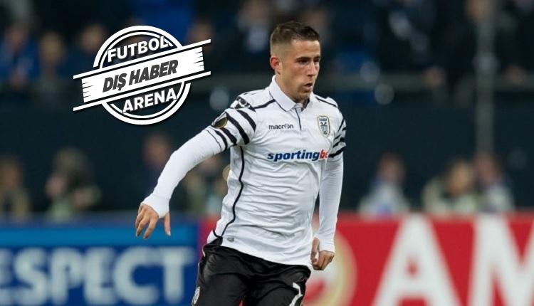 Beşiktaş'ta sürpriz transfer! Razvan Lucescu'nun takımından Dimitris Pelkas