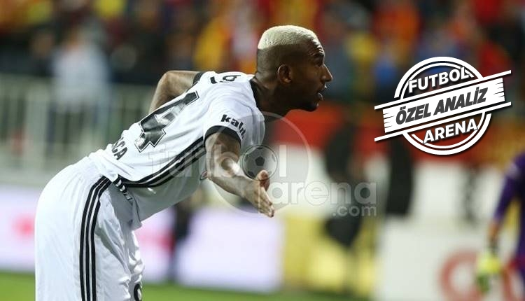 Beşiktaş'ta Talisca performansıyla göz doldurdu