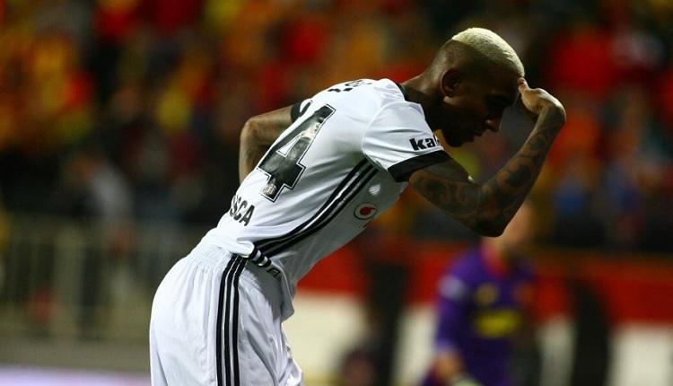 Beşiktaş'ta Talisca'dan Göztepe maçında müthiş kafa golü