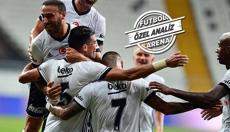 Beşiktaş'tan Süper Lig'de ezeli rakiplerine milli fark