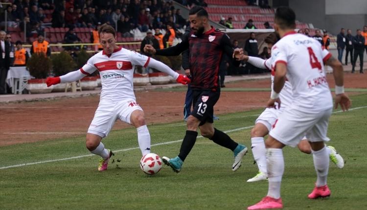 Boluspor 1-0 Samsunspor maç özeti ve golleri