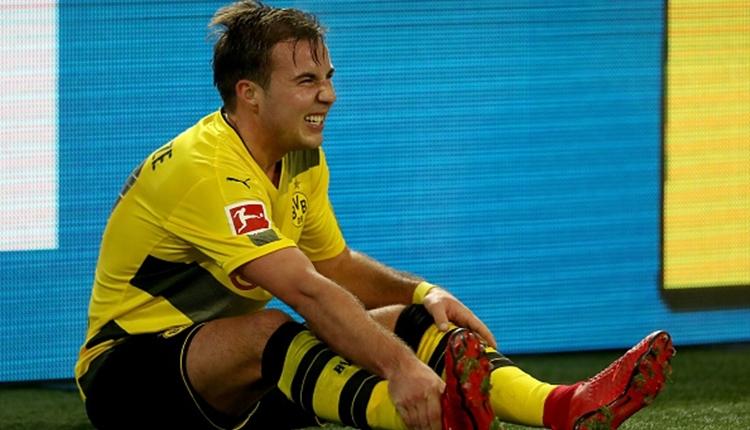 Borussia Dortmund'da Mario Götze kaç hafta yok?