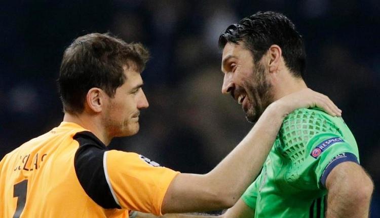 Buffon'a Casillas'tan mesaj: 'Sakın ağlama!'