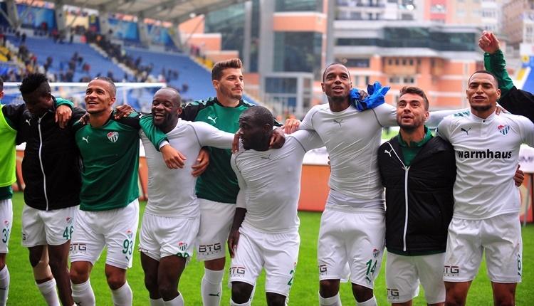 Bursaspor son 4 maçta vitesi arttırdı