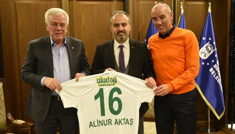 Bursaspor'a maddi ve manevi destek sözü