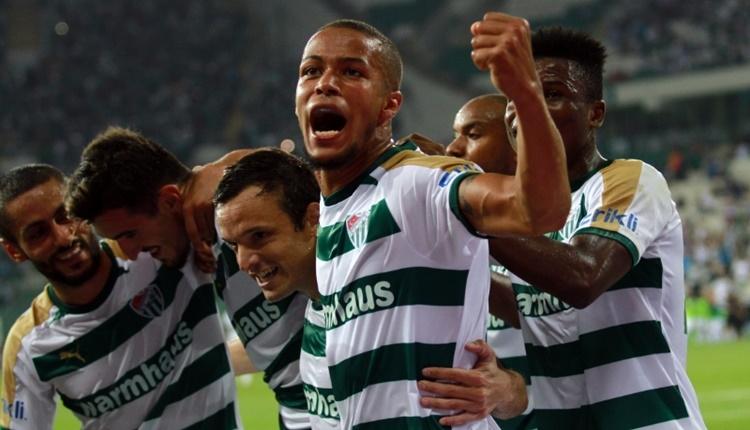 Bursaspor'da 9 farklı oyuncudan çarpıcı istatistik