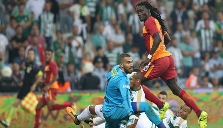 Bursaspor'un iç sahada tek mağlubiyeti Galatasaray'a karşı