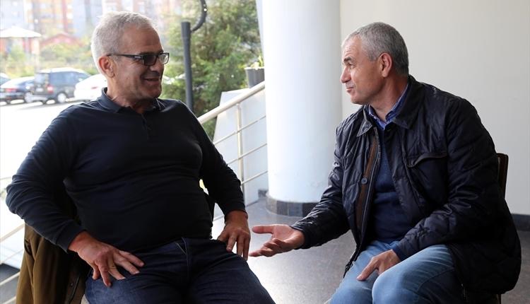 Çaykur Rizespor'a Rıza Çalımbay'dan sürpriz ziyaret