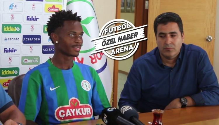 Çaykur Rizespor'da Hasan Kemal Yardımcı: ''Lincoln transferini bana sormayın''