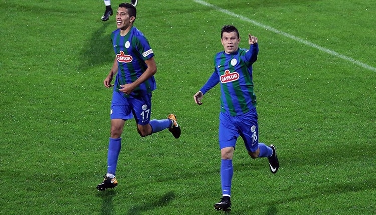 Çaykur Rizespor'da Samudio'yu 5 golcü geçemedi