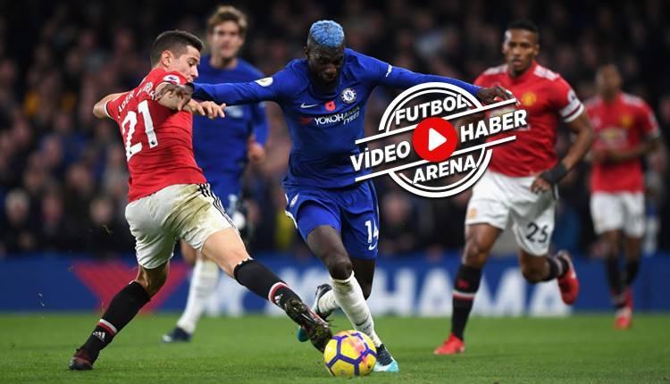 Chelsea 1-0 Manchester United maçı özeti ve golü (İZLE)