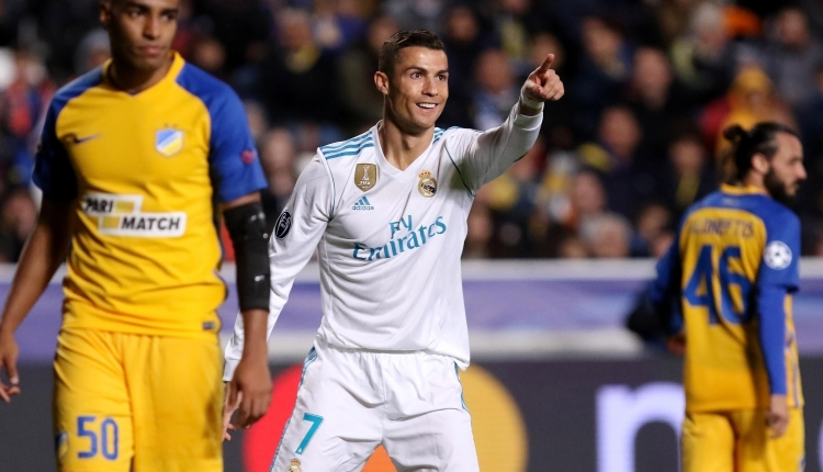 Cristiano Ronaldo, Şampiyonlar Ligi tarihine geçti