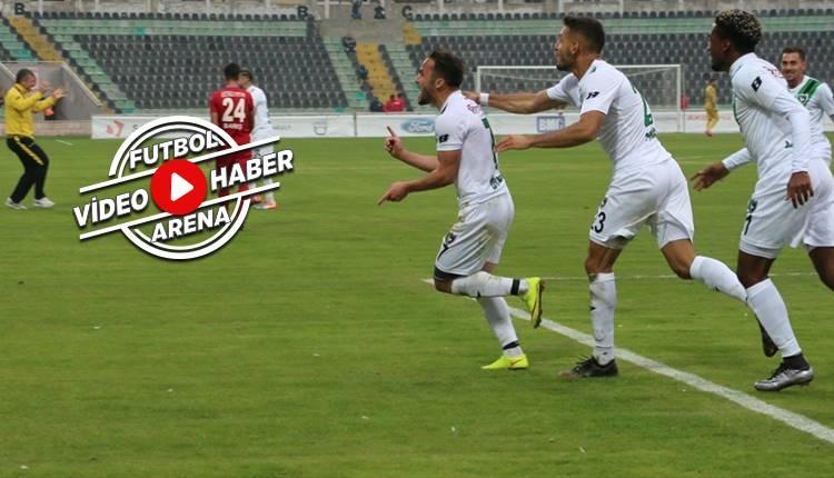 Denizlispor 2-0 Altınordu maçı özeti ve golleri (İZLE)