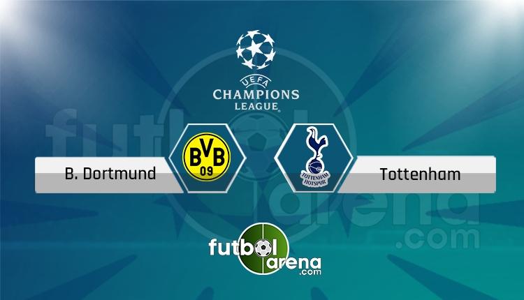 Dortmund - Tottenham saat kaçta, hangi kanalda? (İddaa Canlı Skor)