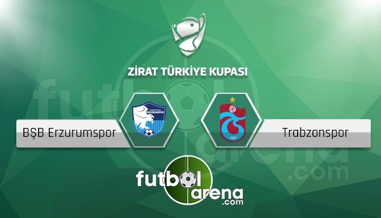Erzurum BŞB - Trabzonspor saat kaçta, hangi kanalda? (İddaa Canlı Skor)