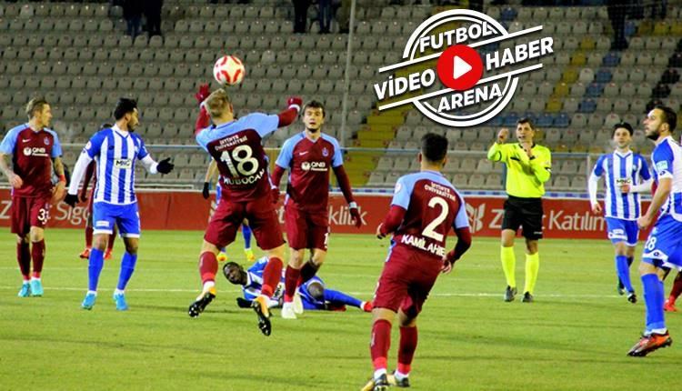 Erzurumspor 0-4 Trabzonspor maçı özeti ve golleri (İZLE)