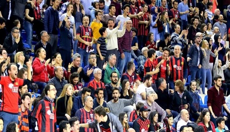 Eskişehir Basket - Fenerbahçe Doğuş maçında gerginlik