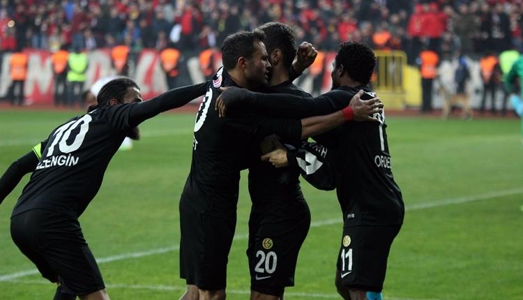 Eskişehirspor 1-1 Çaykur Rizespor maç özeti ve golleri