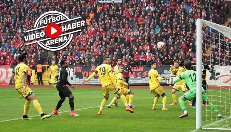 Eskişehirspor 1-3 Ankaragücü maçı özeti ve golleri (İZLE)