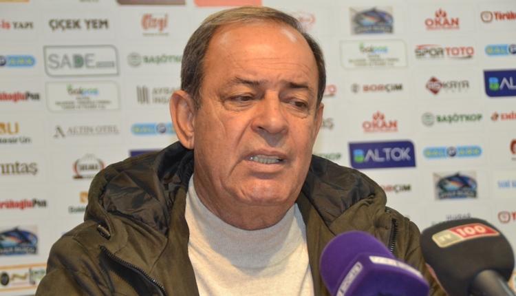 Eskişehirspor'da Yücel İldiz'den galibiyet sözleri