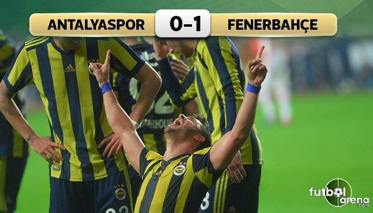 Antalyaspor 0-1 Fenerbahçe maç özeti ve golü (İZLE)