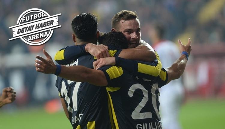 Fenerbahçe, Antalyaspor kabusundan uyandı