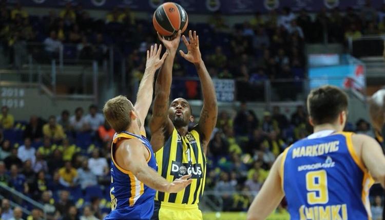 Fenerbahçe Doğuş evinde Khimki'yi devirdi! Ali Koç sürprizi