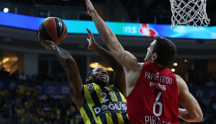 Fenerbahçe Doğuş, Olympiakos'a uzatmalarda boyun eğdi