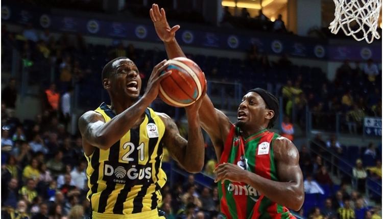 Fenerbahçe Doğuş, Pınar Karşıyaka'yı farklı geçti