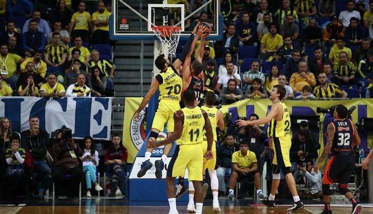 Fenerbahçe Doğuş, Valencia'yı devirdi