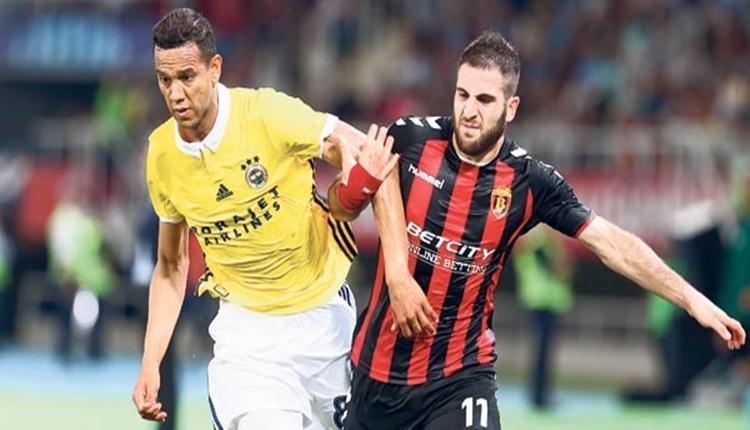 Fenerbahçe, Mehmet Topal ve Josef de Souza ile gol yiyor