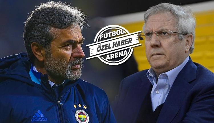 Fenerbahçe Aziz Yıldırım'ın Aykut Kocaman kararı