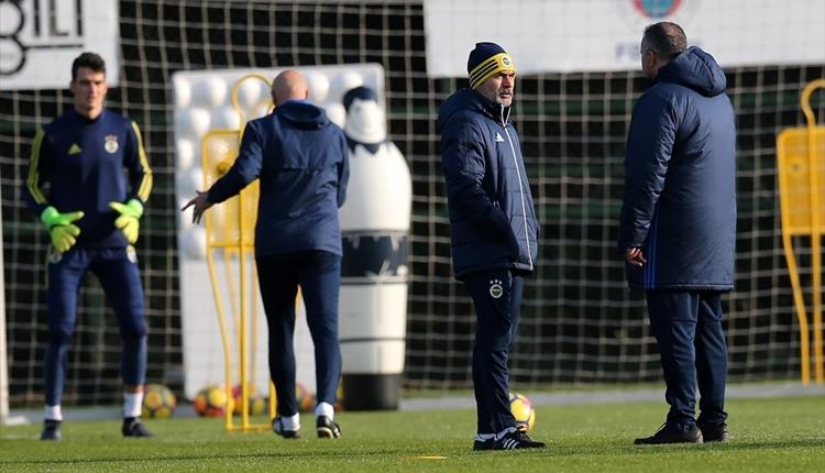 Fenerbahçe'de Aykut Kocaman idmana çıktı! Janssen sevinci