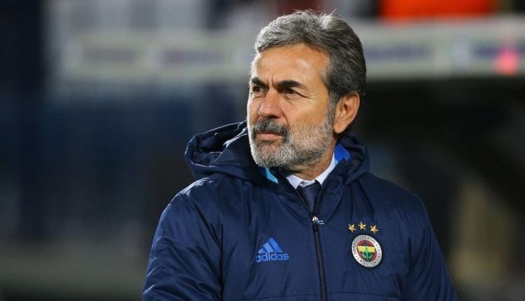 Fenerbahçe'de son dakika Aykut Kocaman kararı