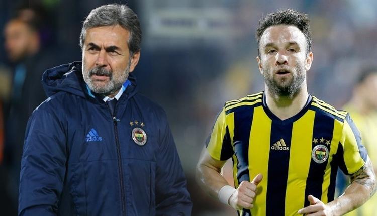 Fenerbahçe'de Aykut Kocaman, Valbuena'yı hamle oyuncusu mu yaptı?