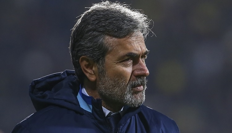 Fenerbahçe'de Aykut Kocaman'dan flaş istifa açıklaması