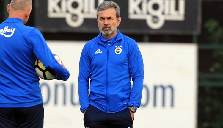 Fenerbahçe'de Aykut Kocaman'ın forma adaleti