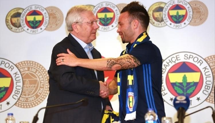 Fenerbahçe'de Aziz Yıldırım'dan Valbuena'ya ''Senin üzerinden..''