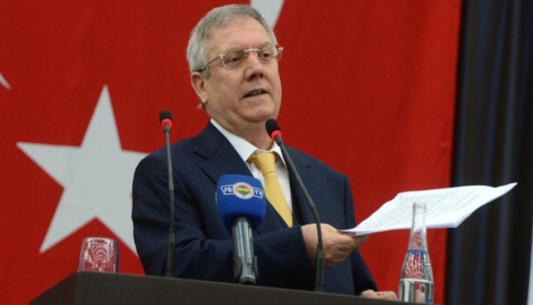 Fenerbahçe'de Aziz Yıldırım'dan transfer şartı
