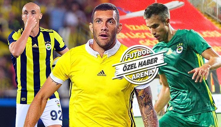 Fenerbahçe'de gözden çıkarılan 3 futbolcu