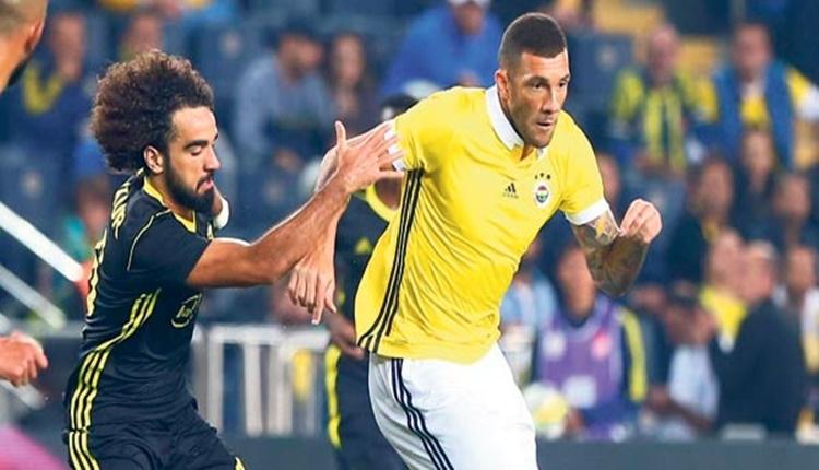 Fenerbahçe'de Jose Fernandao'nun şanssızlığı