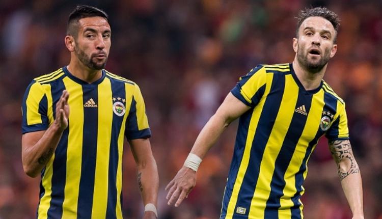 Fenerbahçe'de Valbuena ve Isla'da ikinci derecede yırtık