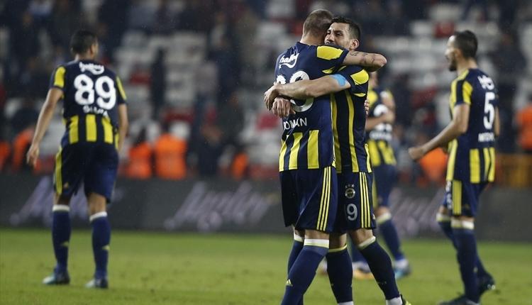 Fenerbahçe'den 18 maç sonra bir ilk