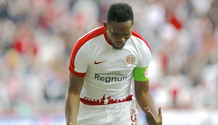 Fenerbahçe'den Samuel Eto transferi hamlesi