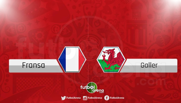 Fransa - Galler canlı skor, maç sonucu - Maç hangi kanalda?