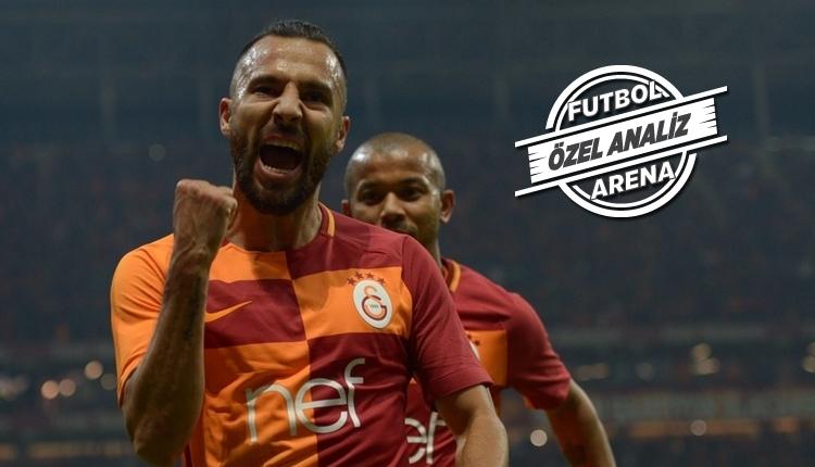 Galatasaray - Alanyaspor maçına Yasin Öztekin damgası