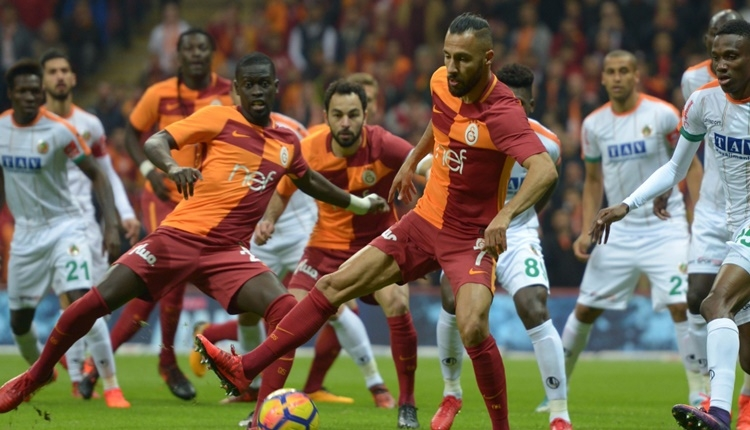 Galatasaray deplasmanında Aytemiz Alanyaspor'un kötü istatistiği
